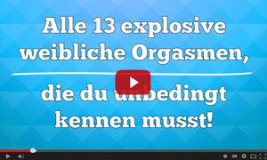 Kostenloses Video - 13 weibliche Orgasmen